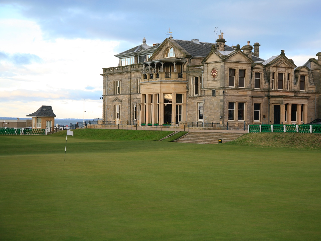 The Royal and Ancient Golf Club of St Andrews.